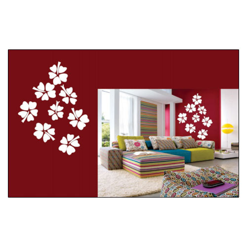wall stickers - flower wall stickers manufacturer from hyderabad
