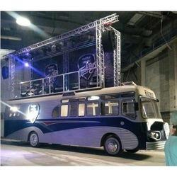 Red Bull Tour Bus Truss