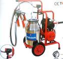 Trolley Model Milking Machine Classic Type Single Bucket