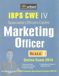 IBPS-CWE IV Specialist Officers Cadre Marketing Officer Scale I Online Exam 2015