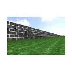 Brick Masonry Compound Wall Construction