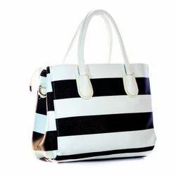 Black and White Shoulder Bag