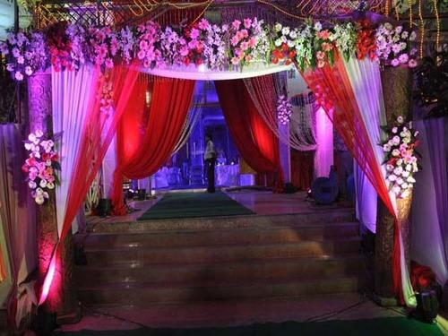 Entrance Gate & Tent Decoration Services Service Provider