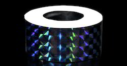 Prismatic Holographic Tapes For Hula Hoops