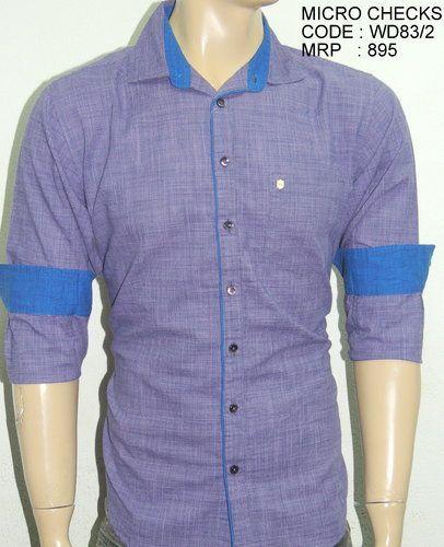 Micro Checked Shirts