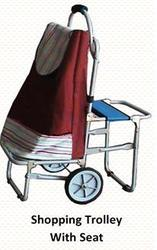 Foldable Trolley with Seat
