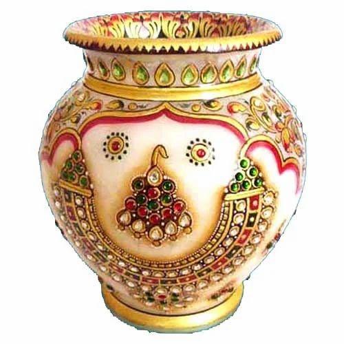 Marble Handicraft India Marble Handicraft Pot
