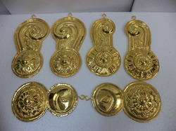 Temple Articles Gold Plated
