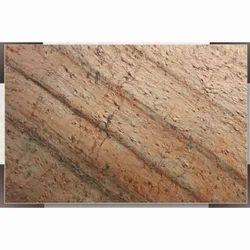 metallic copper stone tile