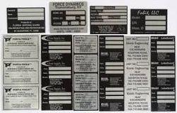 Aluminum Printed Labels