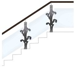 Design Brass Banister