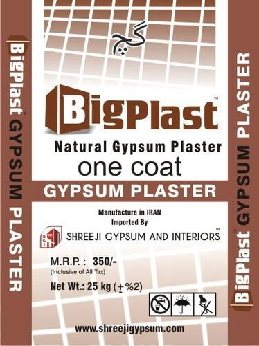 Bigplast Gypsum Powder (IRAN)