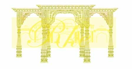 Temple Design Mandap