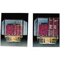 Onion Stuffing Amp Transportation One Door Open Container