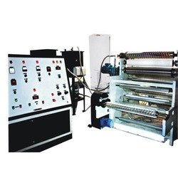Wide Web Soft Hologram Embossing Machine
