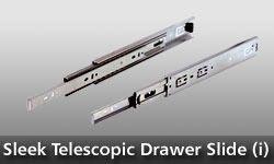 Sleek Telescopic Drawer Slide