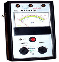 Analog Motor Checker