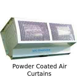 Powder Coated Air Curtains