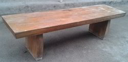 Solidwood Bench