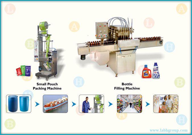 Liquid Deteregent Nuts Packagnig Line