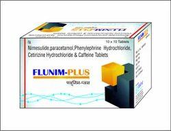 Nimesulide Paracetamol Phenylephrine Cetirizine Caffeine Tab