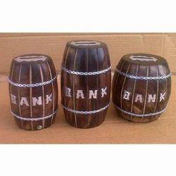 Wooden Money Boxes
