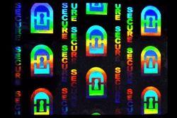 Key Hole Hologram Overlays