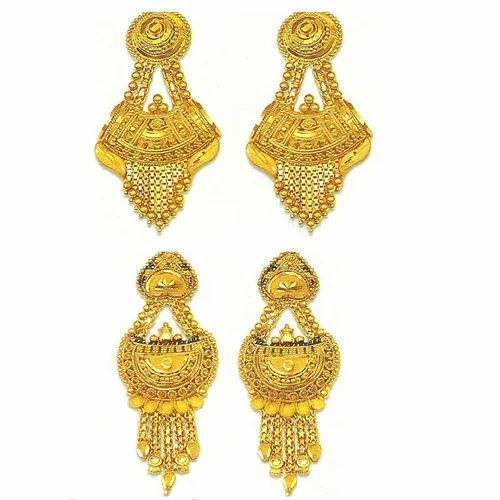 Earrings gold earrings manufacturer from asansol