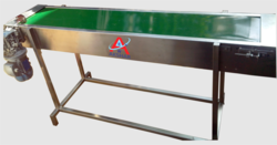 SS Flat Belt Conveyor