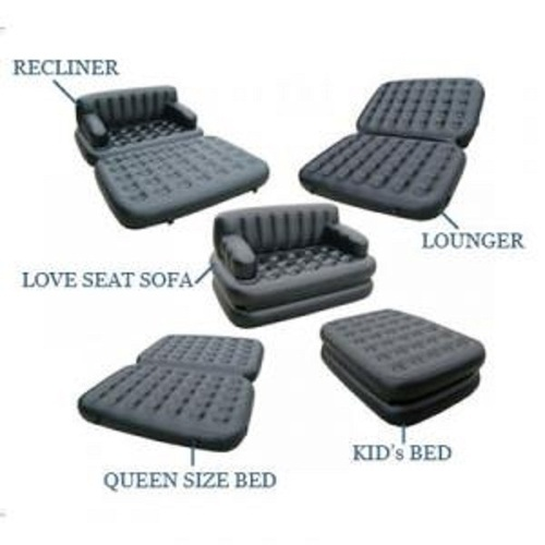 sofa bed 5 in 1 air sofa bed wholesale trader from new delhi. Black Bedroom Furniture Sets. Home Design Ideas