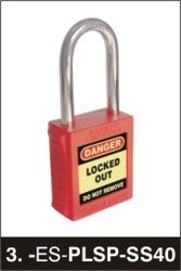 premier lockout safety padlock stainless steel 40mm shackle