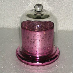 Pink Clotch Candle