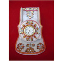 Beautiful Marble Mobile Stand with Watch Including