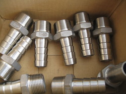 Stainless Steel Hose Nipple 202