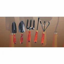 Wooden Garden Tool Set