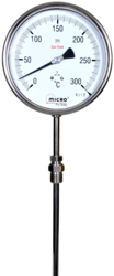 Stem Type Temperature Gauge