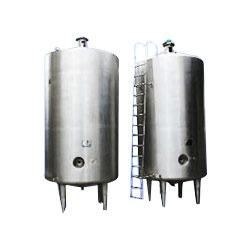 Stainless Steel Milk Silo