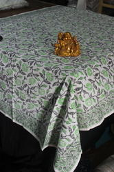 Suzani Embroidered And Block Printed Table Covers