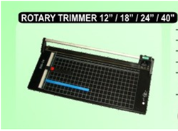 "Rotary Trimmer, 12"", 18"", 24"", 40"""
