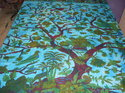 cotton tree of life bedsheet