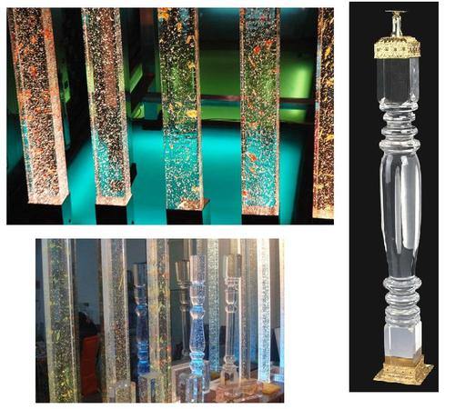 Glass Pillar Designer Glass Pillar Wholesale Sellers