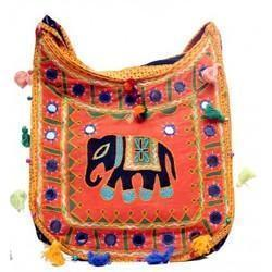Multicolor Rajasthani Printed Bags