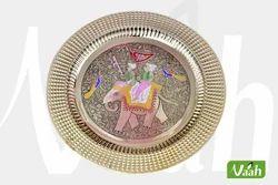Vaah Brass Wall Decor Plates