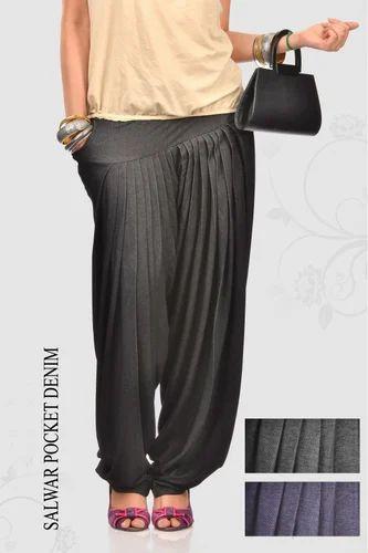 Denim Pocket Salwar