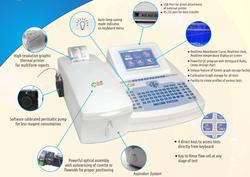 Semi Automated Biochemistry Analyzer