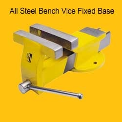 All Steel Bench Vice Fixed Base