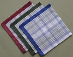 Large Check Handkerchief
