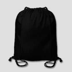 Black Cotton Bread Bag