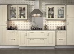 modular kitchen with h g l shutters