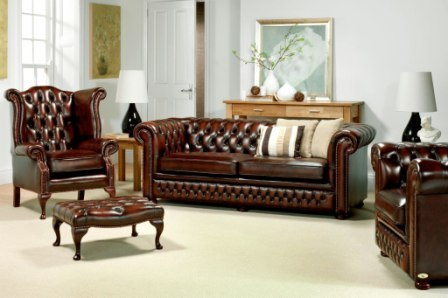 Chesterfield Leather Sofa Manufacturer From Chennai - Leather chesterfield chairs